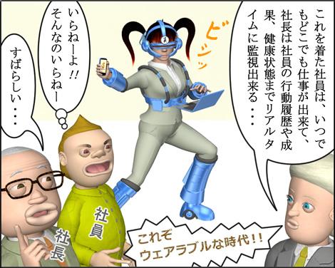 3DキャラOL漫画140602