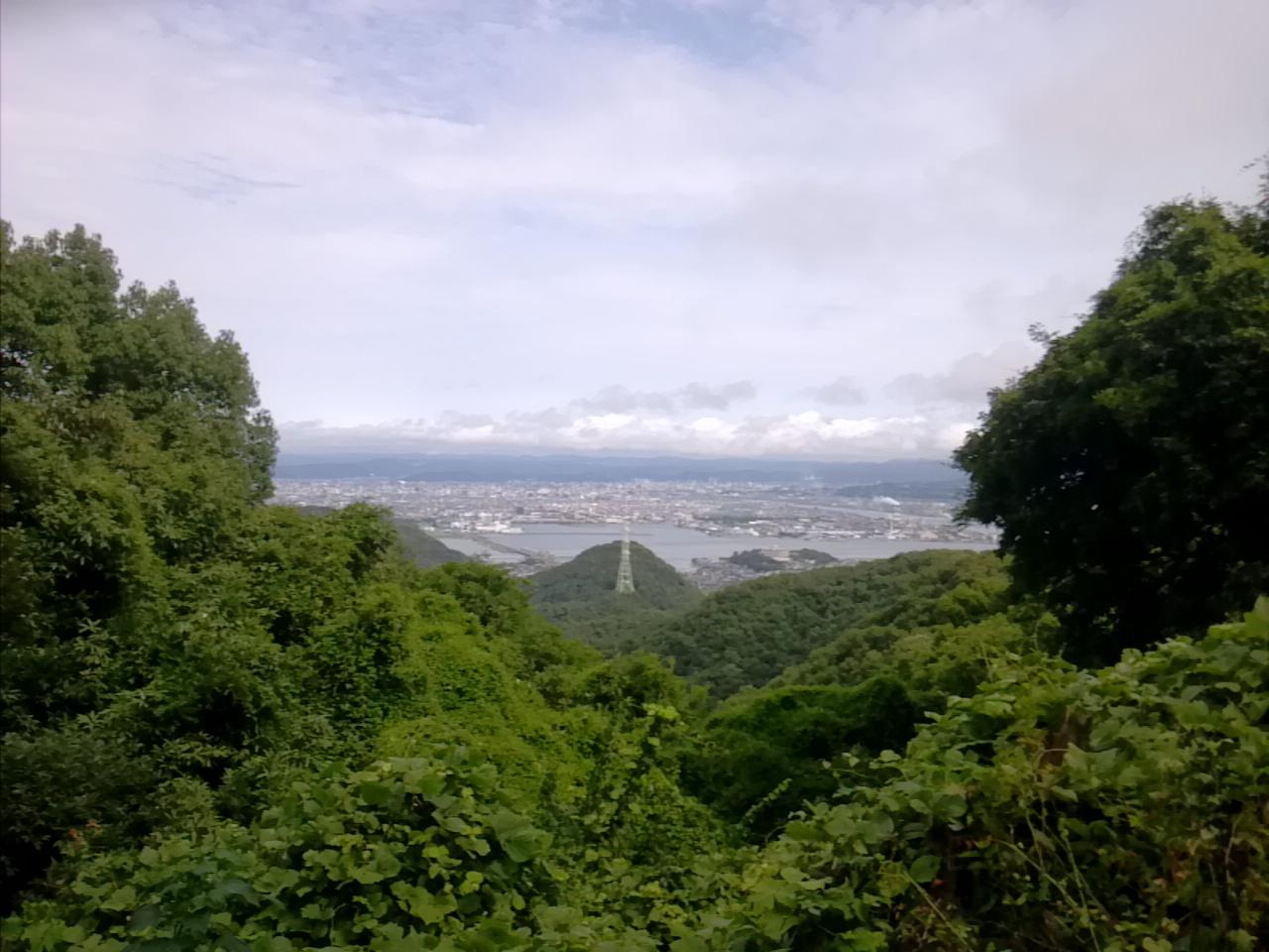 山市街向き