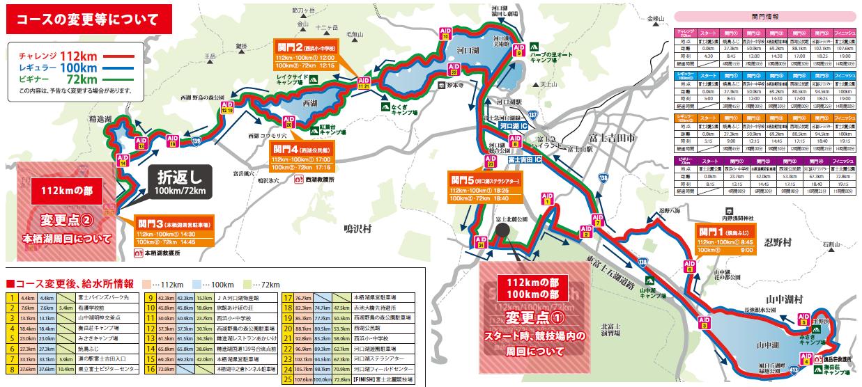 チャレ富士ルートマップ