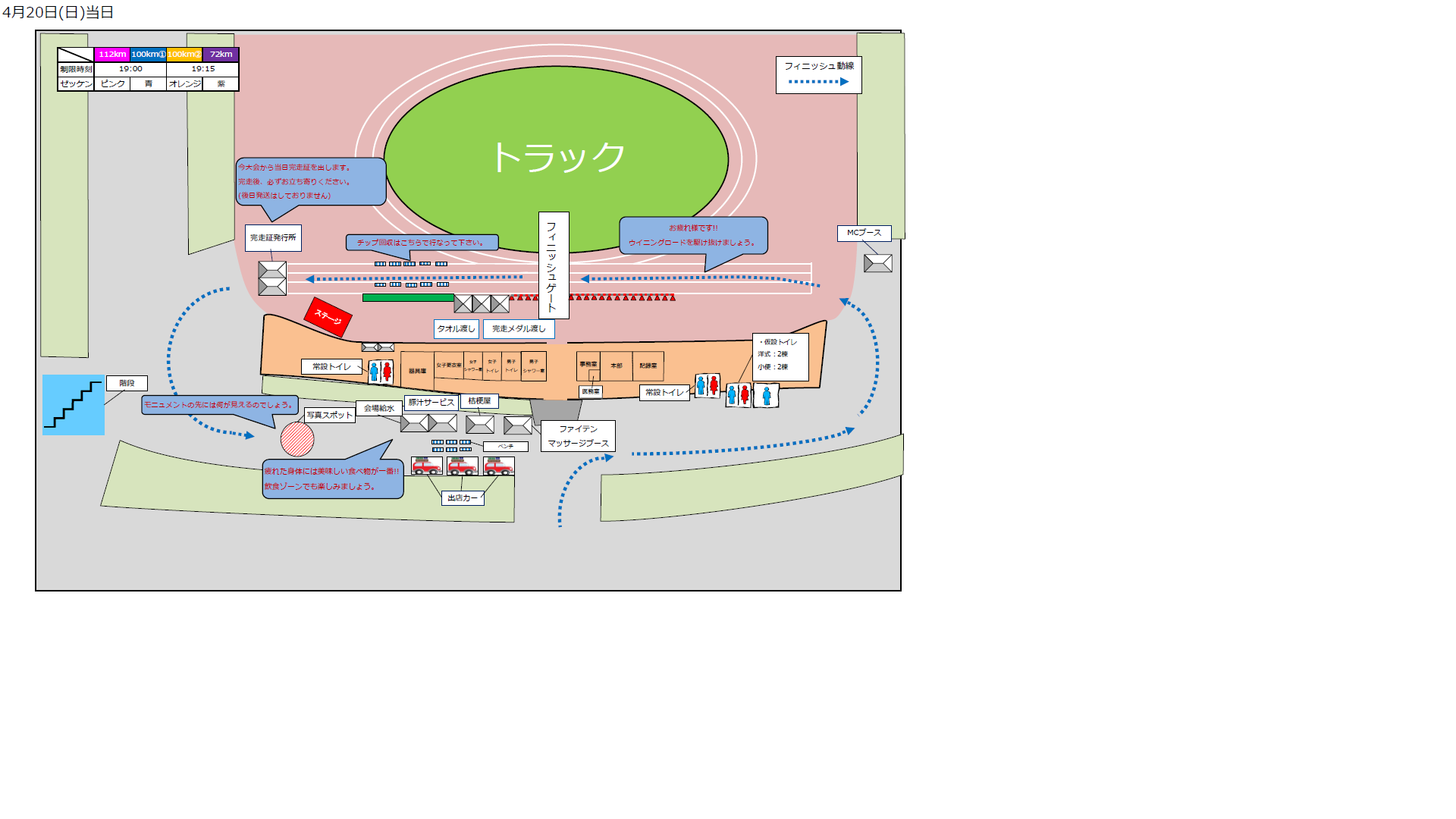 競技場案内図