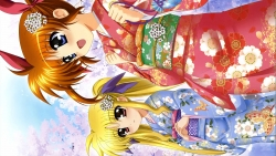 283709 fate_testarossa higa_yukari kimono mahou_shoujo_lyrical_nanoha takamachi_nanoha169_