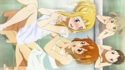 286876 amisaki_ryouko anya_hepburn bathing cleavage harudori_tsumugi maka_albarn naked soul_eater_not! tatane_meme towel169_
