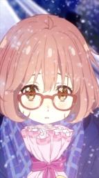 i278212 akami_yuuko kuriyama_mirai kyoukai_no_kanata megane nase_mitsuki valentine