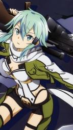 286608 gun_gale_online shino_asada sword_art_online tagme totosui_