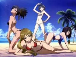 43_293253 bikini hazaki_emiru izuriha_sasame kasumi_raika m3__sono_kuroki_hagane swimsuits yuzuki_maamu
