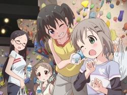 279415 aoba_kokona kuraue_hinata megane saitou_kaede_(yama_no_susume) yama_no_susume yukimura_aoi43_