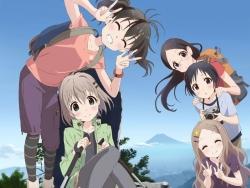 290178 aoba_kokona kuraue_hinata megane saitou_kaede_(yama_no_susume) tagme yama_no_susume yukimura_aoi43_