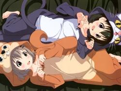 290943 kuraue_hinata pajama yama_no_susume yukimura_aoi43_