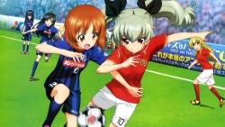 169_291630 anchovy carpaccio girls_und_panzer isuzu_hana itou_takeshi nishizumi_miho reizei_mako soccer