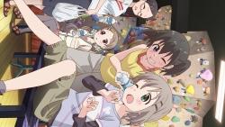 279415 aoba_kokona kuraue_hinata megane saitou_kaede_(yama_no_susume) yama_no_susume yukimura_aoi169_