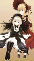 5266272 dress gothic_lolita lolita_fashion rozen_maiden shinku suigintou ueda_kazuyuki