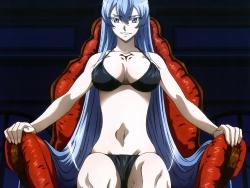 296491 akame_ga_kill! bikini cleavage esdeath feet nakamura_kazuhisa swimsuits43_
