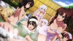 294223 aiba_asagi akatsuki_nagisa cleavage himeragi_yukina kanase_kanon kirasaka_sayaka naked onsen strike_the_blood towel wet yuuma_tokoyogi169_