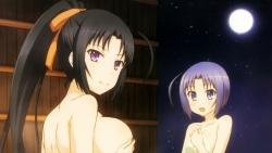 296488 ass breast_hold furukawa_hideki kurano_kuriha naked onsen rokujouma_no_shinryakusha!_ ruthkania_nye_pardomshiha theiamillis_gre_fortorthe towel169_
