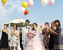 結婚式風船s_003y