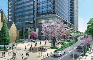 飯田橋駅前広場