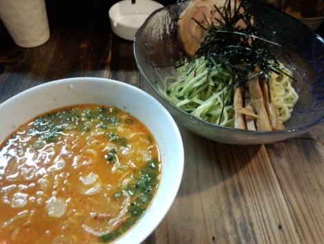 つけ麺 海老味噌味