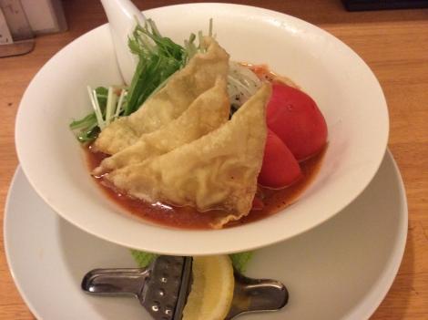 冷しトマトスープ麺