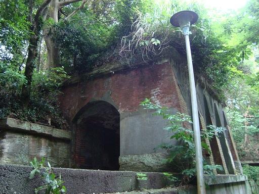 北門第一砲台跡トンネル