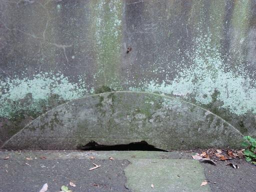 北門第一砲台跡地下室