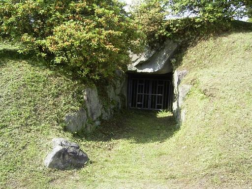 都塚古墳横穴式石室