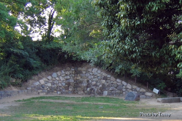 有岡城 往時の石垣
