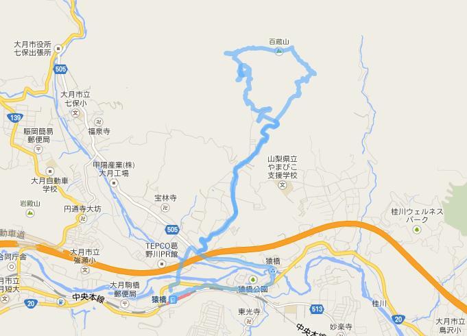 百蔵山20140322