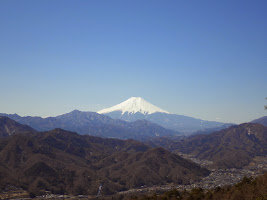 百蔵山富士山