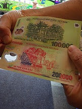 アンコールワット_ベトナム紙幣
