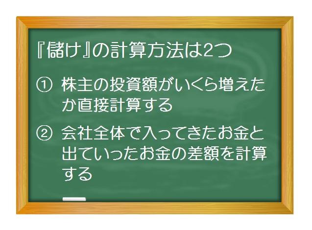 会計(基礎編)_儲けの計算方法