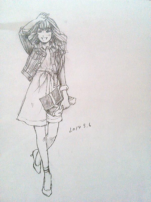 モデルさん可愛い!!((´^ω^))ゥ,、ゥ,、 ファッション通販の仕事してた時は毎日モデルさんを生で見て、1人ウハウハしていたのを思い出しました。