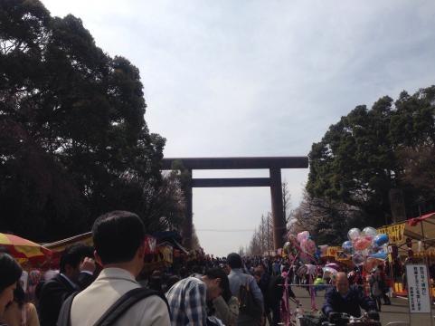 靖国神社2014さくらまつり1