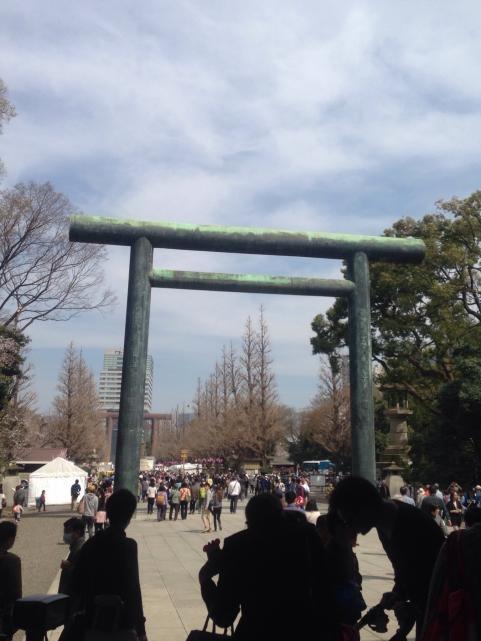 靖国神社2014さくらまつり8