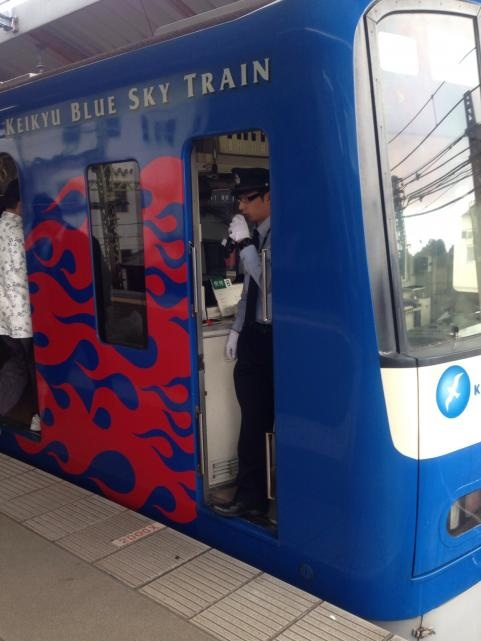 京急ブルースカイトレインxトランスフォーマーロストエイジ2