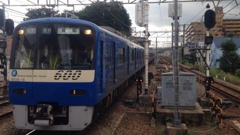 京急ブルースカイトレイン600系