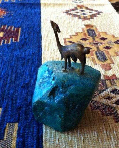 ブルーの石