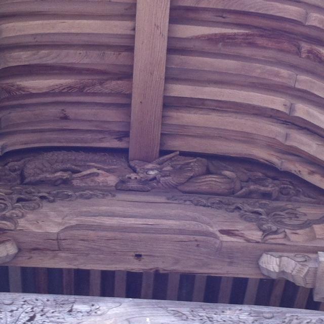 新宮神社天井