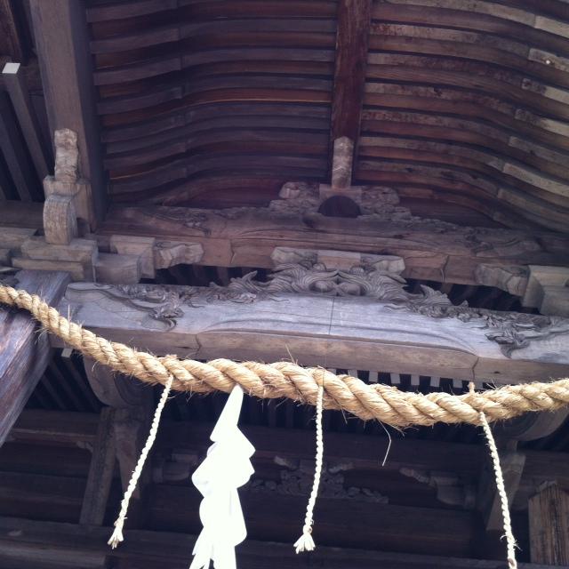 本神殿天井 2
