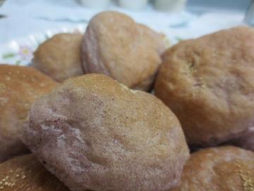 紫芋のパン