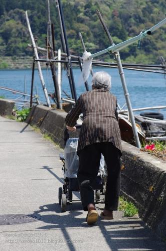2014-04-23沖島のおばあちゃん