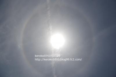 2014-05-04みずの森で見た日暈(ひがさ)ハロー(ヘイロー)