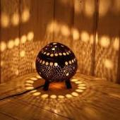 thai coconuts lamp