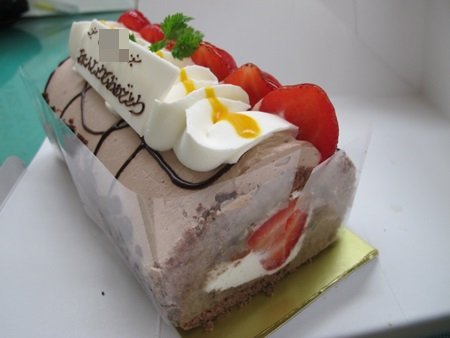 54才 のりくんバースディケーキ