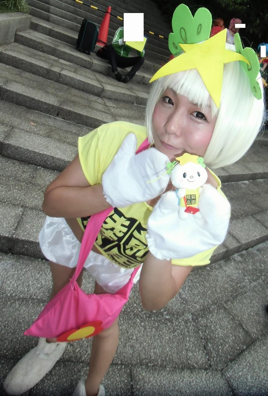 たかたのゆめちゃん (岩手県陸前高田市のマスコットキャラクター ゆるキャラ) C86 コミケ コスプレ02