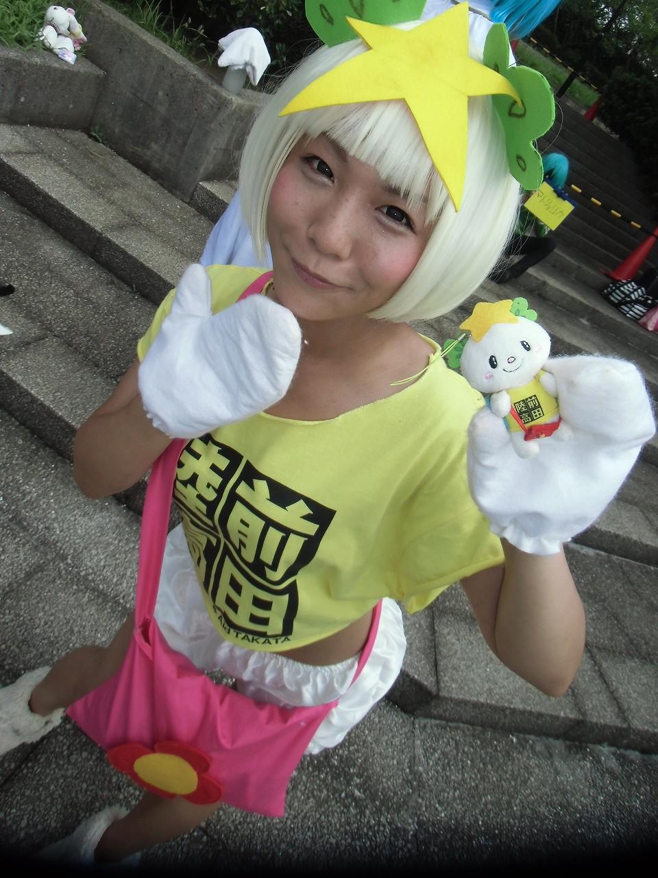 たかたのゆめちゃん (岩手県陸前高田市のマスコットキャラクター ゆるキャラ) C86 コミケ コスプレ03