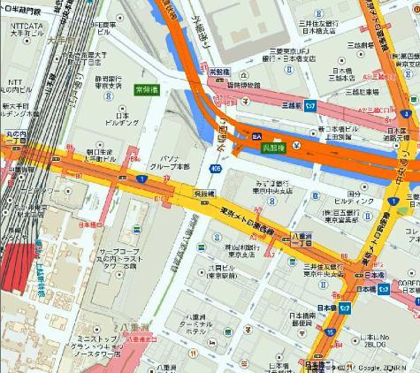 日本東京都千代田区東京駅 - Google マップ0001