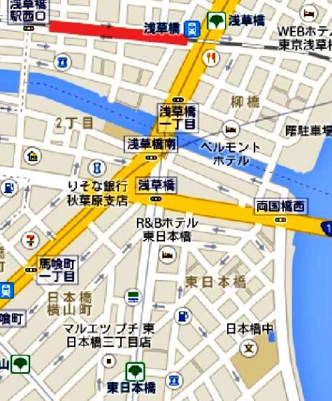 日本東京都台東区浅草橋 - Google マップ-40001-2