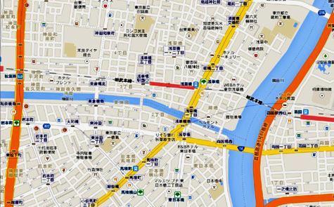 日本東京都台東区浅草橋 - Google マップ-40001