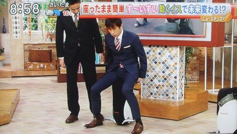 画像ー218ゴルフ・15歳・勝みなみさん&ホンダの動く椅子 029-2