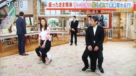 画像ー218ゴルフ・15歳・勝みなみさん&ホンダの動く椅子 049-2